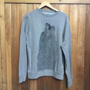 Supremebeing Wolf sweatshirt
